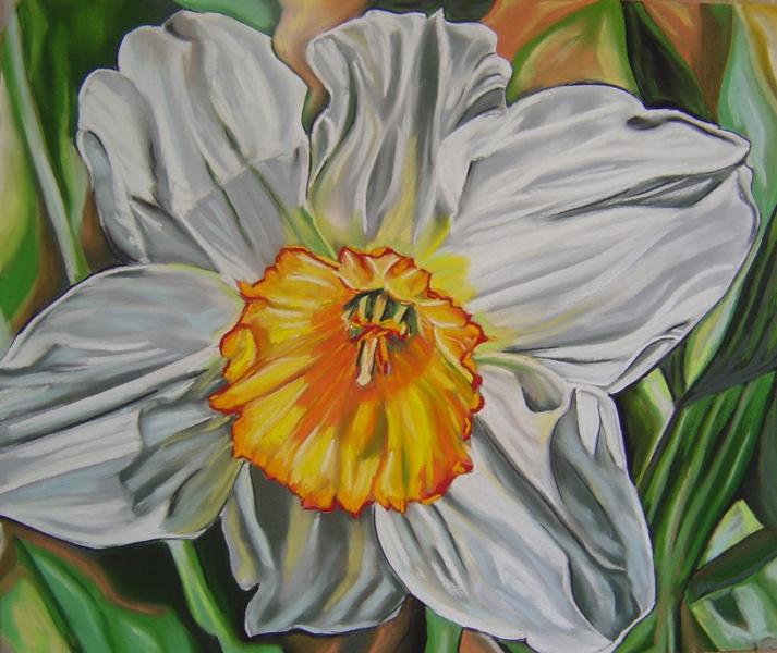 pastels de fleurs, paysages et portraits - galerie de michel ségalen